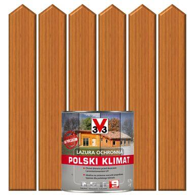 Lazura do drewna POLSKI KLIMAT 0,75 lSosna oregońska V33