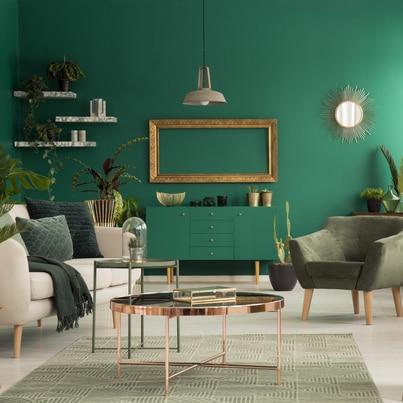 Barwy ziemi w salonie