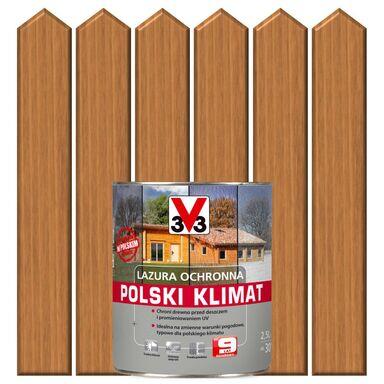 Lazura do drewna POLSKI KLIMAT 2,5 lDąb jasny V33