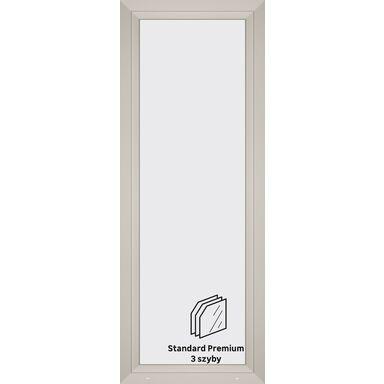 Okno PCV 3-szybowe balkonowe OB8 Białe 865 x 2295 mm