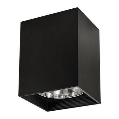 Oprawa natynkowa JUPITER 11 x 15.5 cm czarna E27 POLUX