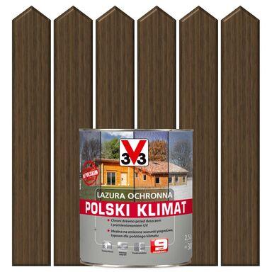 Lazura do drewna POLSKI KLIMAT 2,5 lDąb ciemny V33