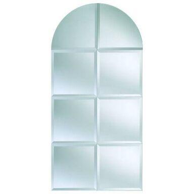 Lustro łazienkowe bez oświetlenia FLIZY SREBRO 30 x 30 cm DUBIEL VITRUM
