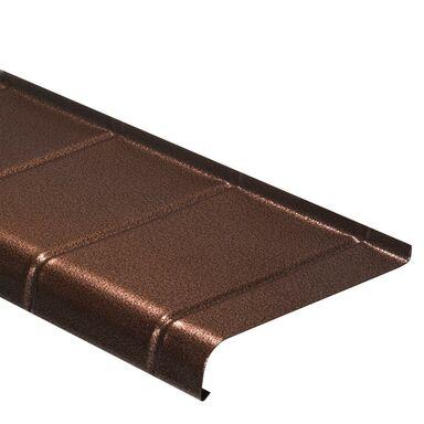 Parapet zewnętrzny STALOWY Miedź antyczna 20 x 150 cm DOMIDOR