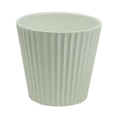 Osłonka ceramiczna 13.5 x 13.5 cm beżowa 985251 KAEMINGK
