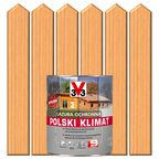 Lazura do drewna POLSKI KLIMAT 2.5 l Sosna skandynawska V33