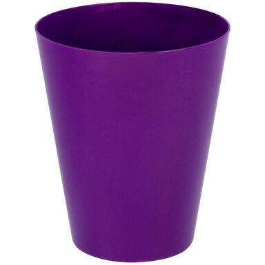 Osłonka do storczyka 12.7 cm plastikowa fioletowa VULCANO