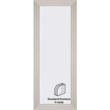 Okno PCV 3-szybowe balkonowe OB5 Białe 865 x 2195 mm