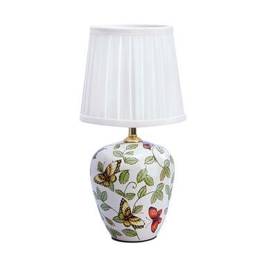 Lampka stołowa MANSION ceramiczna biała E14 MARKSLOJD