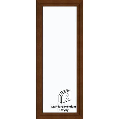 Okno PCV 3-szybowe balkonowe OB6 Złoty dąb 865 x 2195 mm