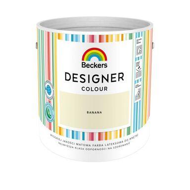 Farba wewnętrzna DESIGNER COLOUR 2.5 l Banana BECKERS