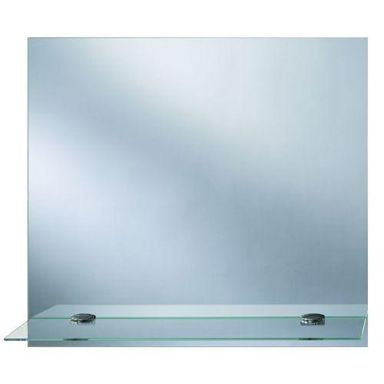 Lustro łazienkowe bez oświetlenia TOALETKA Z PÓŁKĄ 40 x 50 DUBIEL VITRUM