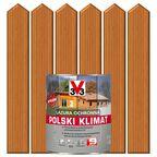 Lazura do drewna POLSKI KLIMAT 2.5 l Sosna oregońska V33