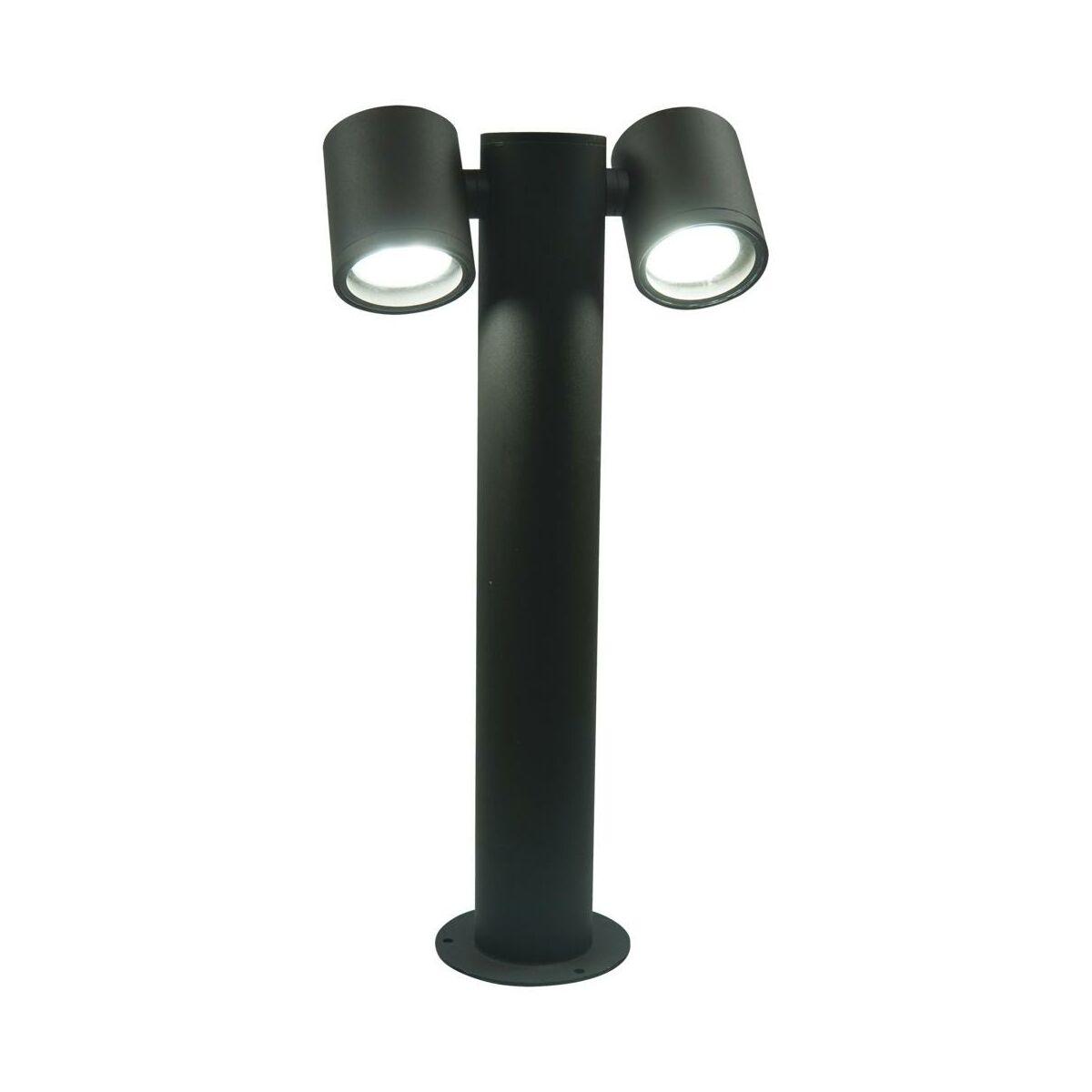 Lampa ogrodowa stojąca PINO czarna POLUX