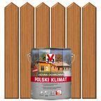 Lazura do drewna POLSKI KLIMAT 5 l Dąb jasny V33
