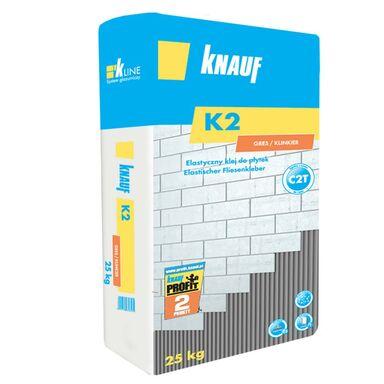 Klej elastyczny do płytek K2 GRES KLINKIER 25 kg KNAUF