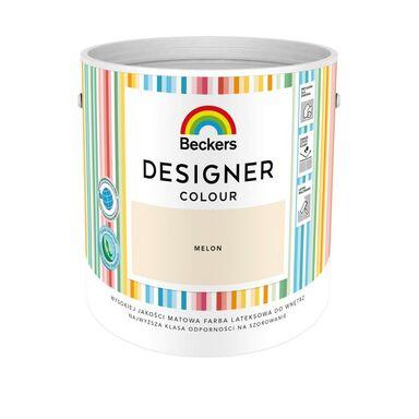 Farba wewnętrzna DESIGNER COLOUR 2.5 l Melon BECKERS