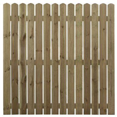 Płot deskowy 180x180 cm drewniany MNISZEK STELMET