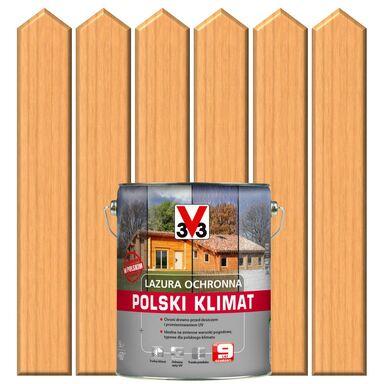 Lazura do drewna POLSKI KLIMAT 5 lSosna skandynawska V33