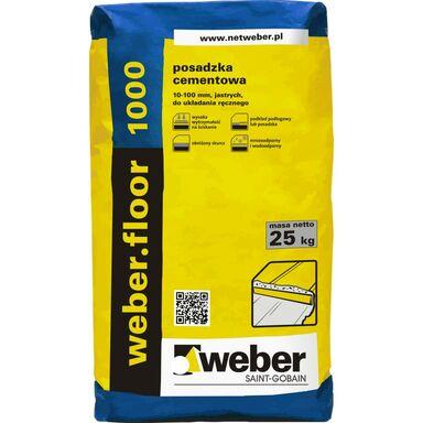 Posadzka cementowa WEBER FLOOR 1000 WEBER