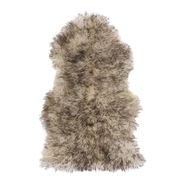 Skóra naturalna owcza szara 55 x 95 cm