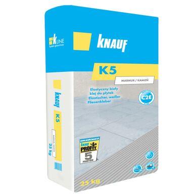 Klej do płytek ELASTYCZNY K5 MARMUR/KAMIEŃ 25 kg KNAUF