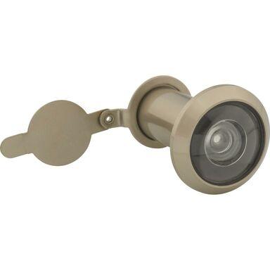 Wizjer do drzwi regulowany 35 - 60 mm Nikiel satyna
