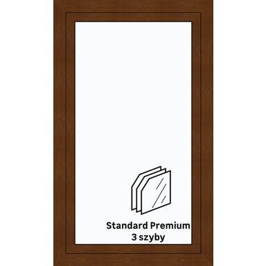 Okno PCV 3-szybowe O30 Złoty dąb 865 x 1435 mm