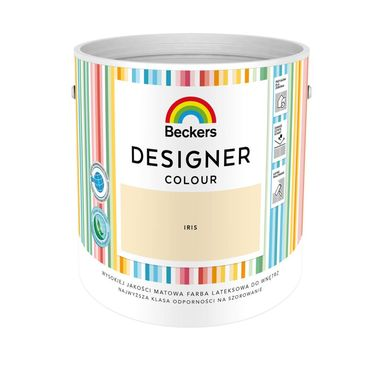 Farba wewnętrzna DESIGNER COLOUR 2.5 l Iris BECKERS