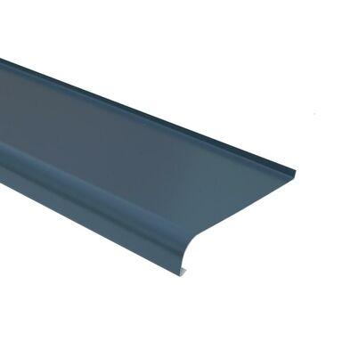 Parapet zewnętrzny STALOWY Grafitowy 20 x 200 cm DOMIDOR