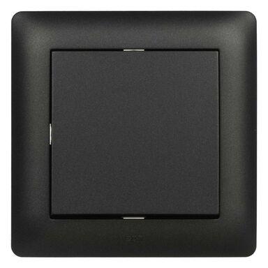 Włącznik pojedynczy schodowy ASTORIA  czarny  ELEKTRO-PLAST