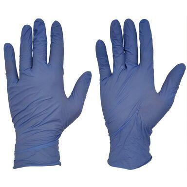 Rękawice ochronne nitrylowe r. S/6 10 szt.