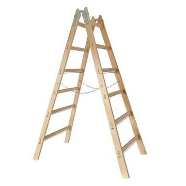 Drabina drewniana 2 x 6