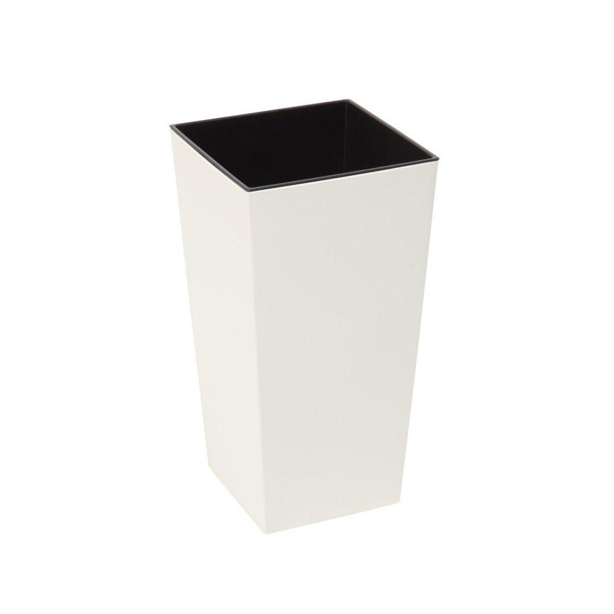 Doniczka Plastikowa 25 X 25 Cm Kremowa Finezja Doniczki W Atrakcyjnej Cenie W Sklepach Leroy Merlin