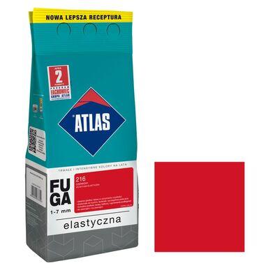 Fuga cementowa 216  czerwony  2 kg ATLAS