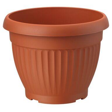 Doniczka plastikowa 12 cm terrakota DONA FORM-PLASTIC