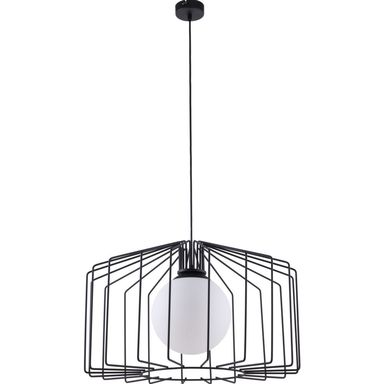Lampa wisząca Ramos czarna E27 Aldex