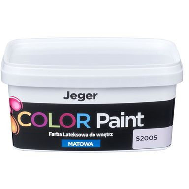 Farba dekoracyjna COLOR PAINT 1 l S2005 Lateksowa matowa JEGER