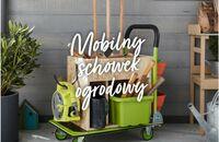 Mobilny schowek na narzędzia ogrodnicze – zrób go sam