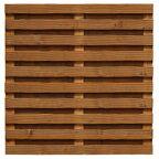 Płot szczelny 180x180 cm drewniany MALMO WERTH-HOLZ
