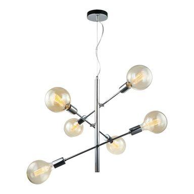 Lampa wisząca MADALYN chrom E27 ITALUX