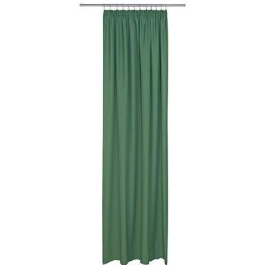 Zasłona EMMA zielona 140 x 250 cm na taśmie
