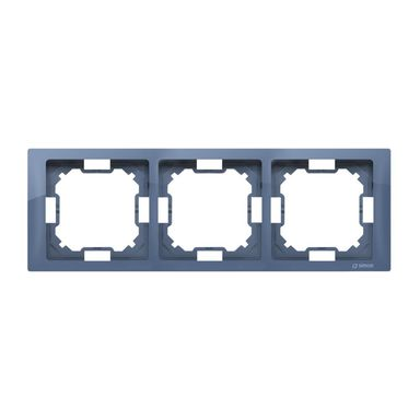 Ramka potrójna SIMON BASIC  Lawendowy  KONTAKT SIMON