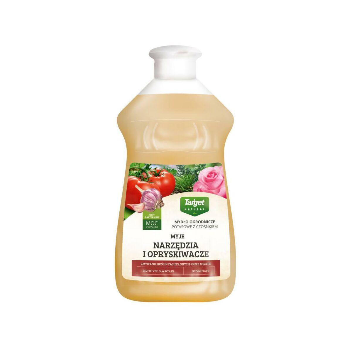 Mydlo Ogrodnicze Potasowe Z Czosnkiem 0 5 L Target Natural Srodki Czystosci Preparaty Pielegnujace W Atrakcyjnej Cenie W Sklepach Leroy Merlin