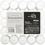 Podgrzewacz tealight 50 szt. bezzapachowy