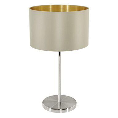 Lampa stołowa MASERLO brązowa E27 EGLO