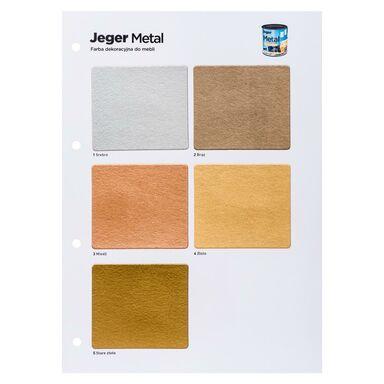 Wzornik kolorów METAL JEGER