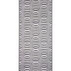 Chodnik dywanowy na mb Pawo szary szer. 80 cm