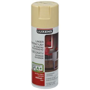 Spray KOLOR 0.4 l Kość słoniowa Połysk LUXENS