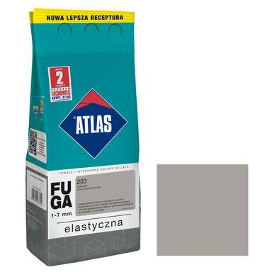 Fuga cementowa 203  stalowy  2 kg ATLAS